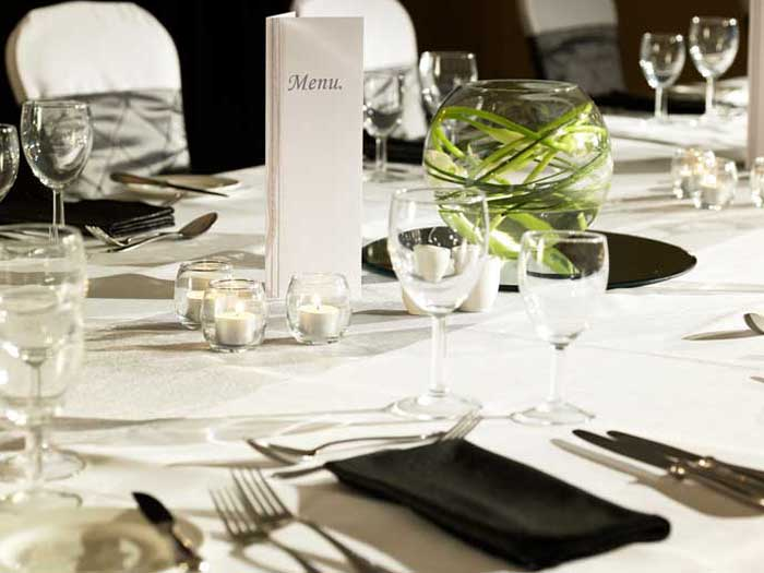 Banqueting events at QHotels